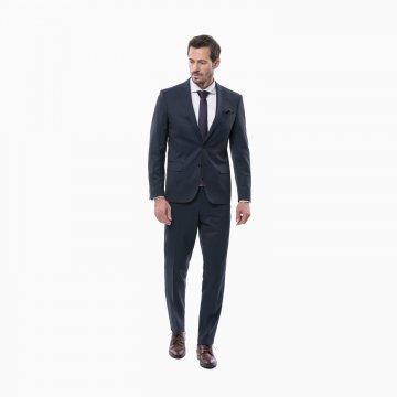 Pánsky oblek, modrý