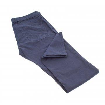 Pánske bavlnené nohavice s mikrokockou