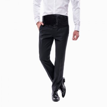 Pánske smokingové nohavice 9932168