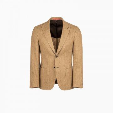 Pánské bavlněné sako s příměsí lnu
