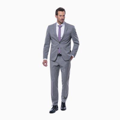 Pánsky oblek, šedý