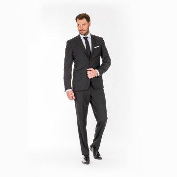 Pánský oblek, antracit