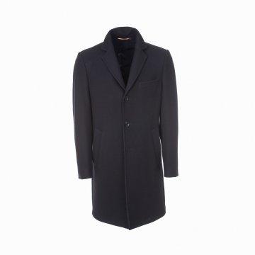 Kabát p. Z s klopou,tm.modry T6500000071