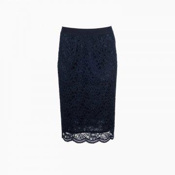Dámska sukňa s čipkou