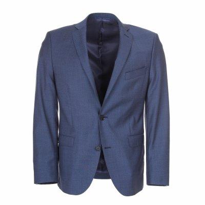 Pánský oblek, 100% vlna, modrý