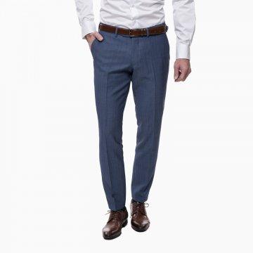 Pánske nohavice, 100% vlna, slim
