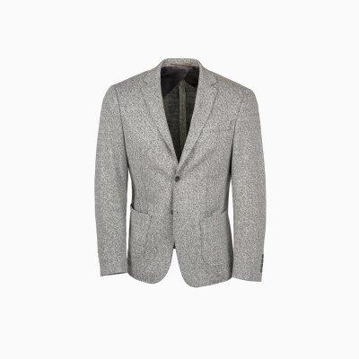 Pánské lněné sako s příměsí bavlny
