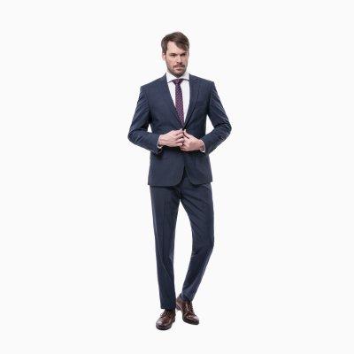 Pánský oblek, modrý