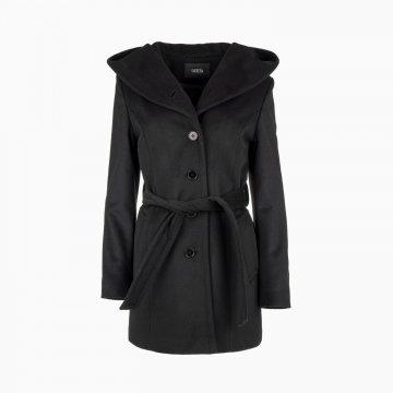 Dámsky vlnený kabát