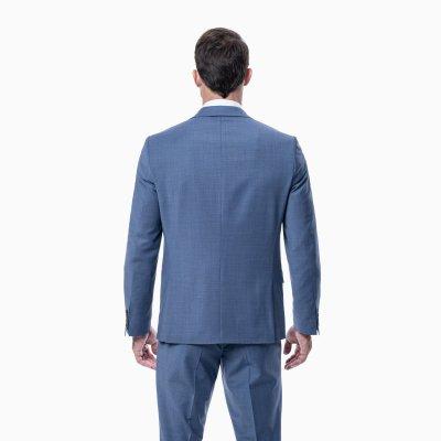 Pánsky oblek, riflovomodrý