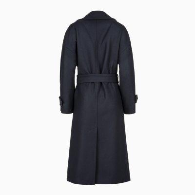 Dámsky kabát, oversized