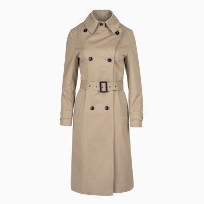 Dámsky kabát, trenčkot