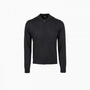 Pánsky bomber sveter na zips