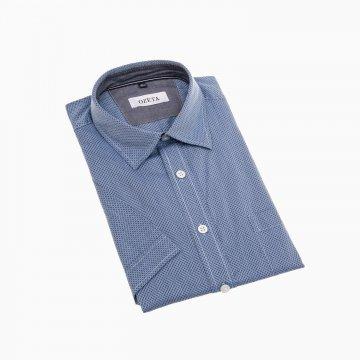 Pánska košeľa s krátkym rukávom, 100% bavlna