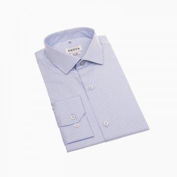 Pánska košeľa s mikrokockou, 100% bavlna