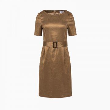 Dámske šaty s opaskom