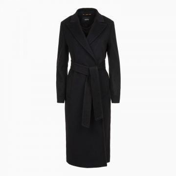 Dámsky vlnený kabát s prímesou kašmíru